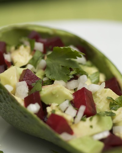 Beet and Avocado Salad