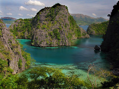 Coron Island, Palawan, Philippines (It's More Fun in the Philippines!!!) Tags: ocean travel vacation tourism beach nature scenery asia philippines limestone whitesand filipinas palawan philippinen rockformati