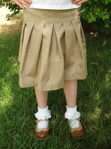 2+2 Skirt ~ Oliver + S Pattern