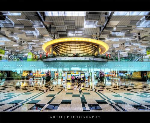 Changi Airport Terminal 3, Sin...