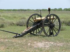 6lber Bronze Cannon (XavierthePax) Tags: bronzecannon 6lb usmexicanwar 6pound paloaltobattlefieldnationalhistoricsite battleofpaloalto battleofresacadelapalma