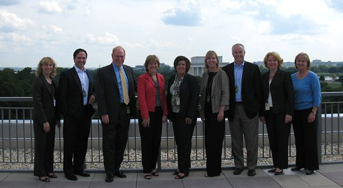 APhA & Procter & Gamble, on the terrace.