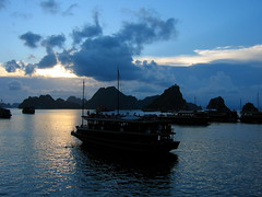 Halong Bay (Py All) Tags: sea mer heritage nature bay boat asia unesco vietnam viet asie bateau halong nam worldheritage baie
