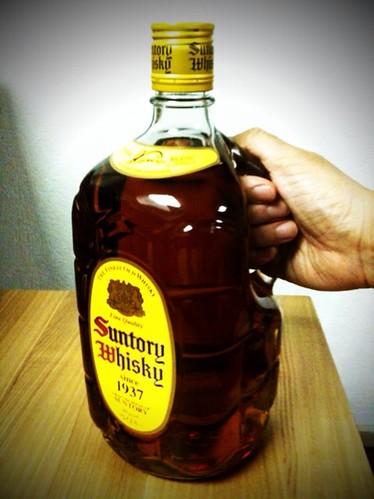 大きな角瓶