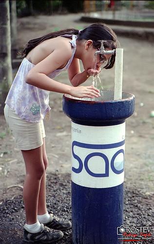 Matando a sede