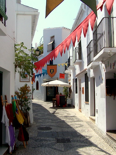 Travel to the municipality of Frigiliana