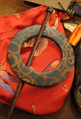 Cinnamon Shawl Ring