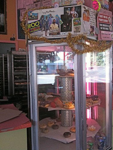 Voodoo Doughnuts Display