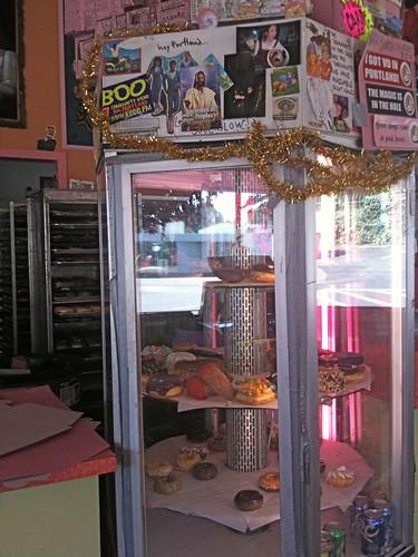Voodoo Doughnuts Display