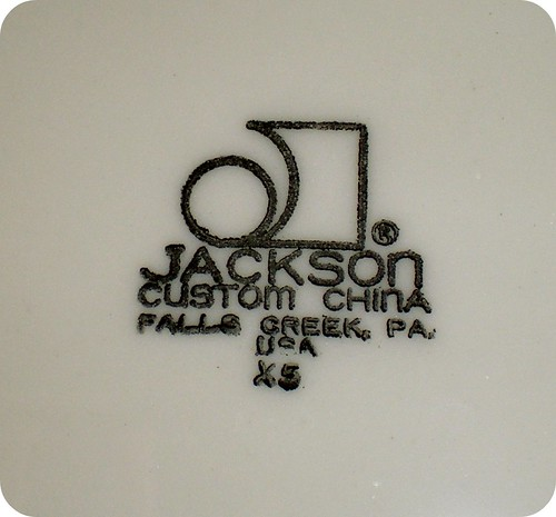 green platter back mark