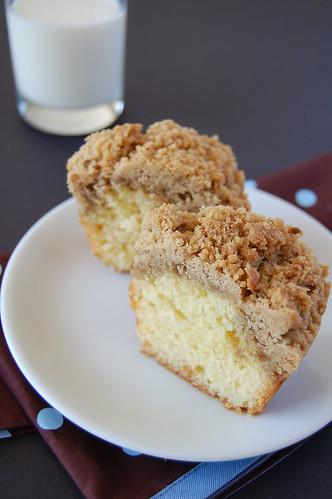 Lemon coffee cake / Bolo de limão com streusel