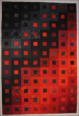 Paint It Black quilt top, take 2