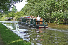 Photo of Barge on the Leeds and Liverpool Canal