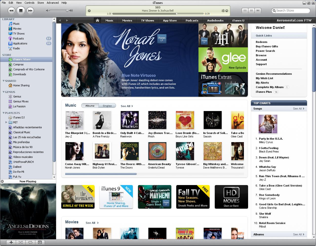 iTunes Store iTunes 9