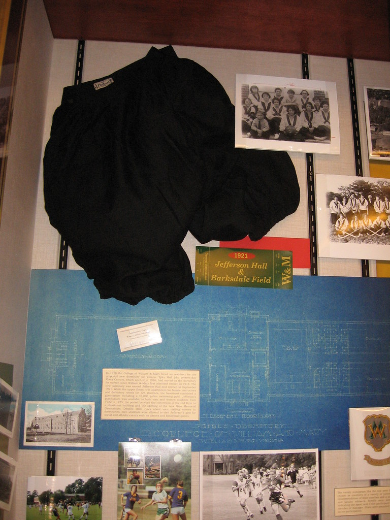 Jefferson Hall & Barksdale Field Exhibit Case
