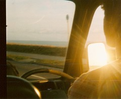 Boy with the golden touch (Maddie Joyce) Tags: ocean california road trip camping friends boy sunset sea summer sun travelling car sunshine silhouette youth golden evening cornwall surf driving shadows van themagicbus wwwthemagicbuscollectivecom maddiejoyce