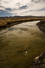 Dépôt de terre contaminée au fond du fleuve Ramis, Crucero, Puno, Pérou