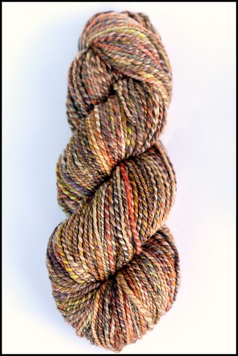 """Indian Corn"" on Merino/Bamboo"