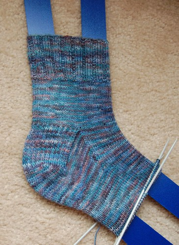WIP: Diana's Marathon socks