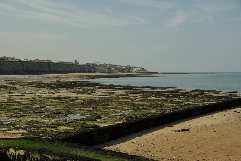 Tide Out at Foreness Bay