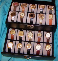 Vintage Watch Box (alexkerhead) Tags: old art up leather japan metal vintage japanese gold nice pieces wind watches time box antique swiss steel watch hamilton band lord retro collection made bands automatic elgin timex wristwatch collectible piece windup deco quartz seiko timepieces clocks stainless collector caravelle bulova benrus accutron elgins poljot whittnauer kronatron