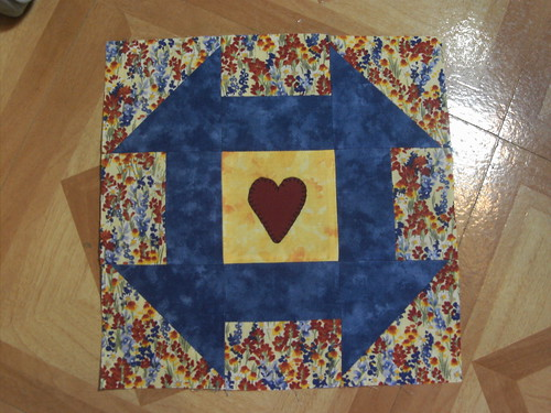 "Block For The ""Terry Love Quilt"""