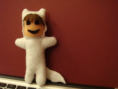 Finished Felt Max (from Where the wild things are)