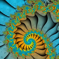 Spiral (Village9991) Tags: stairs airplane spiral shark steps jet fractal recursive titanium turbine hypnotic