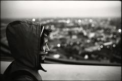 city-hochhaus view (gorbot.) Tags: sunset rangefinder yvonne leipzig augustusplatz leicam6 cityhochhaus fujineopan1600 oct08 mmount epsonv700 autaut ilfotechc131 voigtlander35mmnoktonf12