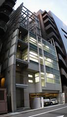 Ginza (Mondo Tiki Man) Tags: japan architecture tokyo ginza curtainwall
