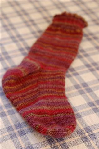 Handknitted Sock