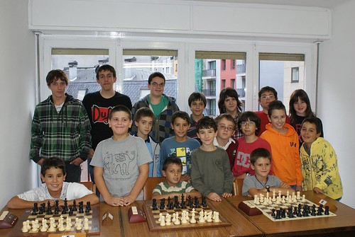 Part dels alumnes per la temporada 2009/10