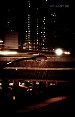 Street Light (xphaqtor) Tags: rain streetlight downtown houston utata houstonist lenshouston justlikeyoulikeit