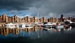 Liverpool docks (lovestruck.) Tags: sea liverpool docks reflections river boats explore sk yachts mersey narrowboats waterfron sigma105mm explored challengeyouwinner pentaxk10d winnerbc