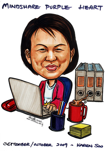 Caricature for Mindshare 131009 - 1