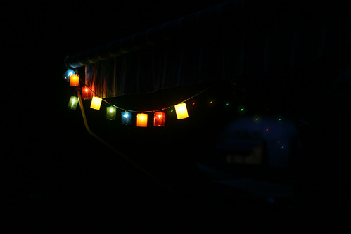 Lights on the Airstream