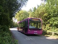Velvet @ Netley (PD3.) Tags: travel black bus buses abbey rally hampshire velvet east southampton 2008 v7 psv pcv gmt daf lancs hants netley easteigh v7gmt