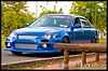 HondaCivic_0275 (Steve Nibourette) Tags: blue cars honda rally subaru modified civic seychelles impreza b18c