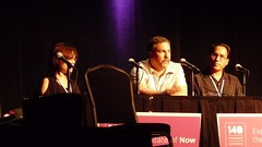 Mark Speaking on the Lifestreaming Panel at the 140Conf at the Kodak Theater