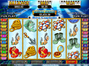 Sea Captain slot game online review