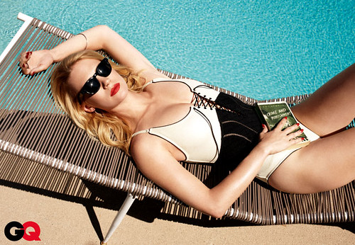 January Jones alias Betty Draper (Mad Men) November Issue GQ