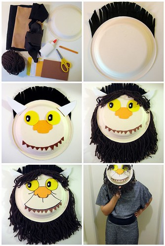 DIY: Where the Wild Things Are Mask Tutorial