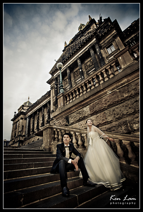 Zeta & Bryan - Pre-wedding/Engagement in Prague