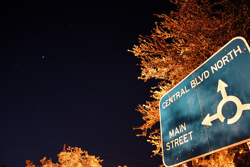 sign and stars