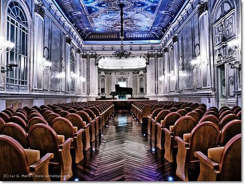 Tour fotográfico a la Sala María Cristina (Málaga)