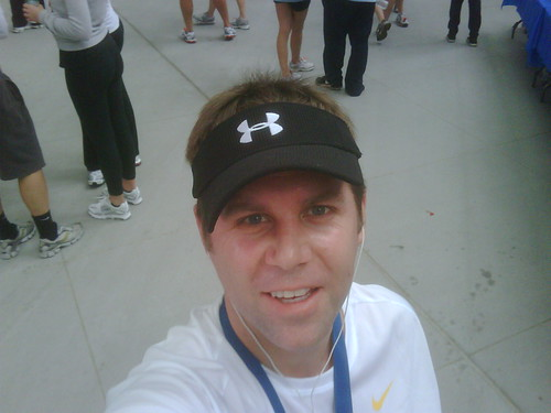 Shawn Collins after the race