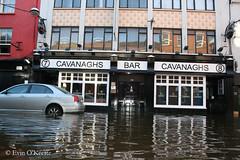 Cavanagh's Bar (FreckledPast) Tags: ireland irish bar pub flood drink cork beverage pint 2009 irishpub corkcity republicofireland cavanaghs evinokeeffe
