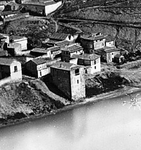 Torre del Hierro de Toledo hacia 1870