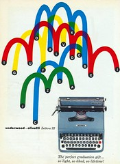 Underwood Olivetti Lettera 22 (The Pie Shops Collection) Tags: vintage ads advertising olivetti typewritter underwood lettera22