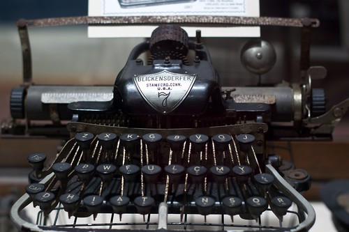 Before there was QWERTY keyboard layouts  there were a number of    Qwerty Keyboard Typewriter